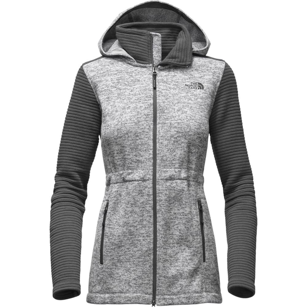 THE NORTH FACE Women's Indi Insulated Hoodie - LUNAR ICE GRY HEATHR