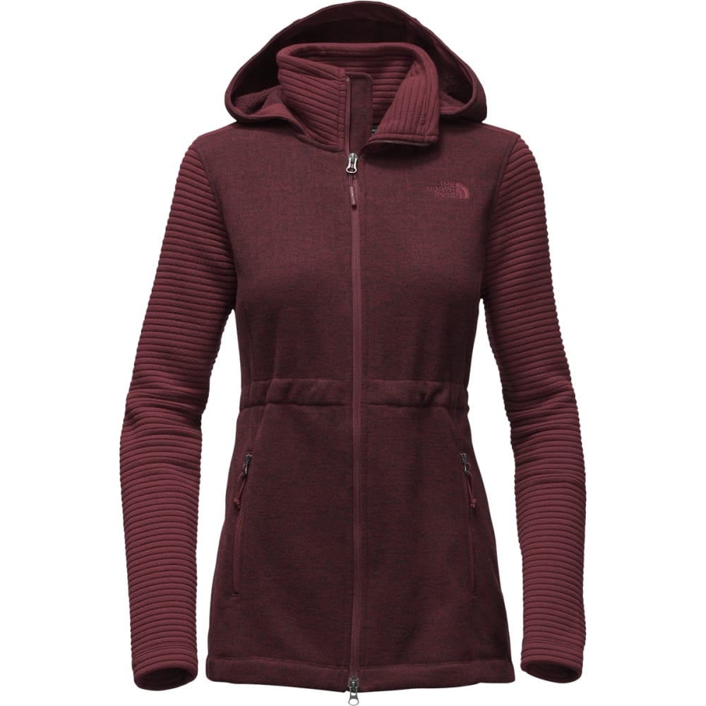 THE NORTH FACE Women's Indi Insulated Hoodie - DEEP GARNET RED
