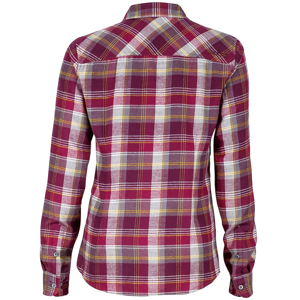 MARMOT Women's Bridget Flannel Shirt - MAGENTA