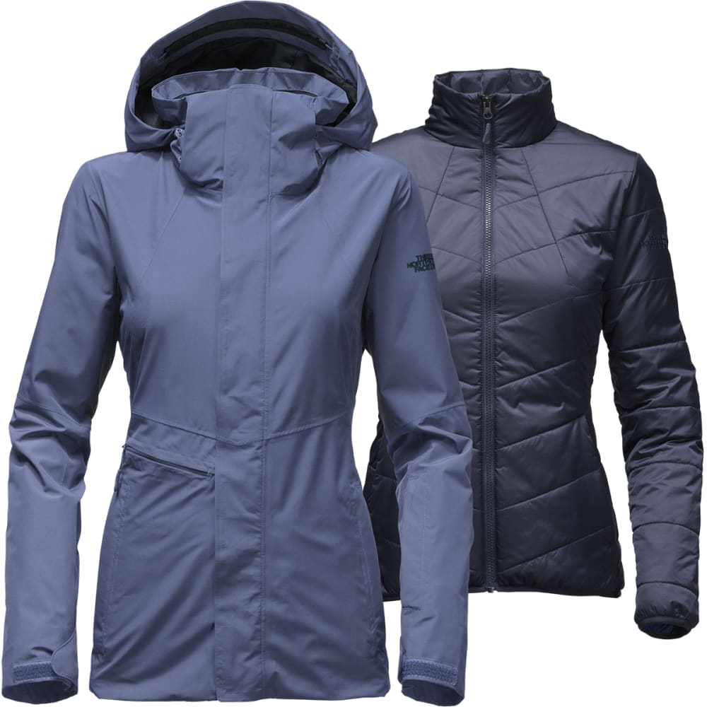 THE NORTH FACE Women's Garner Triclimate Jacket - COASTAL FJORD BLUE