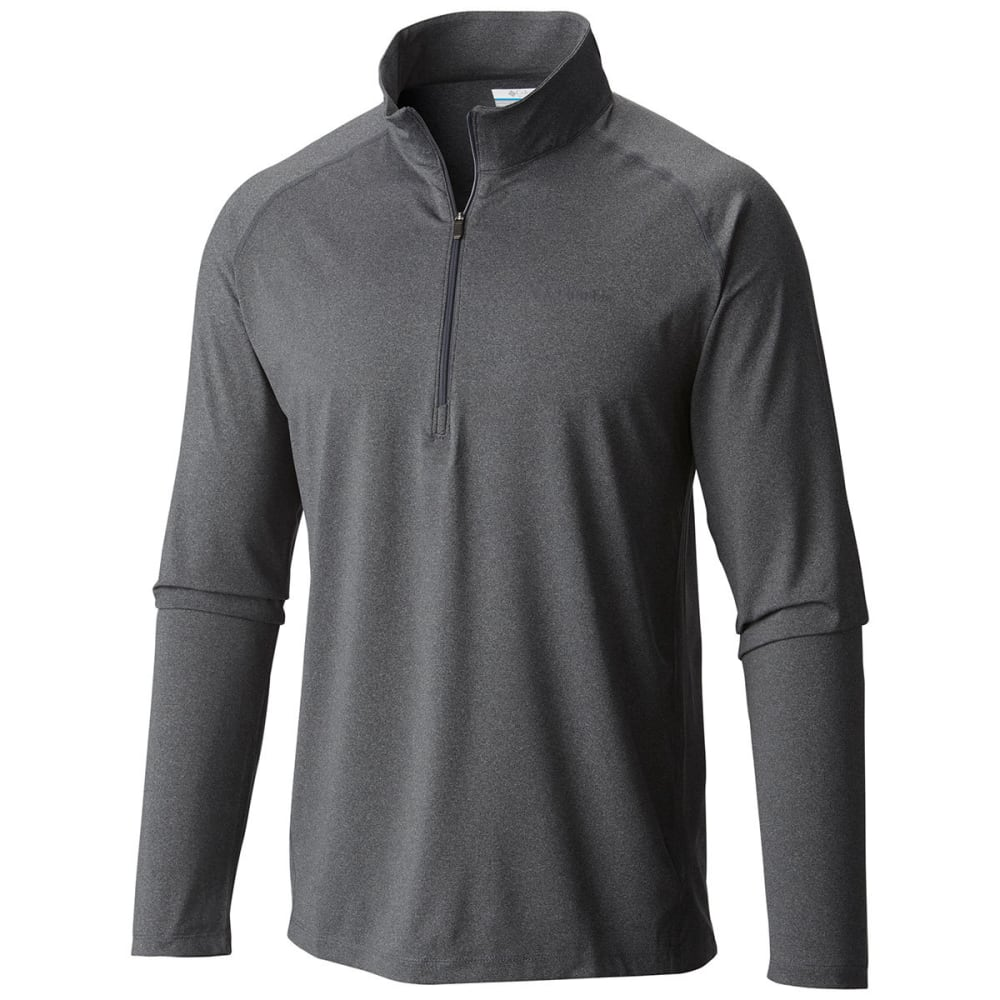 COLUMBIA Men's Tuk Mountain™ Half-Zip Shirt - 053-GRAPHITE HTHR