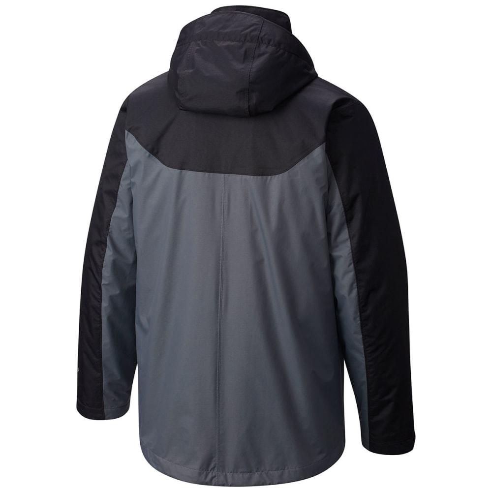 COLUMBIA Men's Whirlibird™ Interchange Jacket - GRAPHITE/BLACK-053