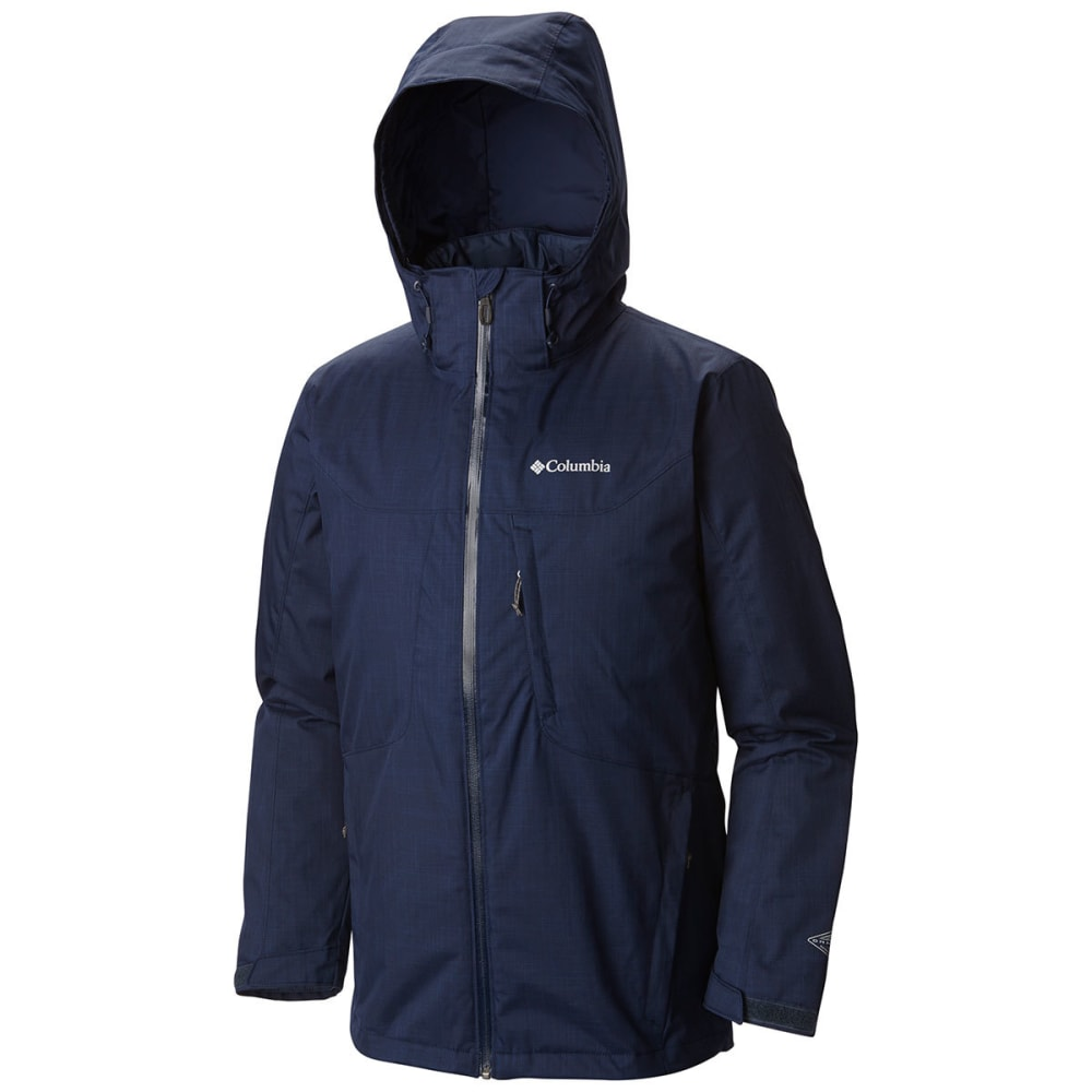 COLUMBIA Men's Whirlibird Interchange Jacket - COL NAVY MELANGE-465