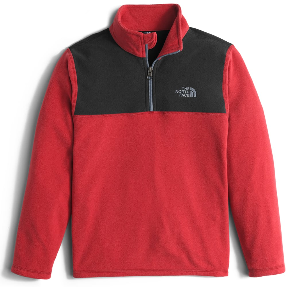 THE NORTH FACE Boys' Glacier  ¼ Zip Pullover - 682-TNF RED