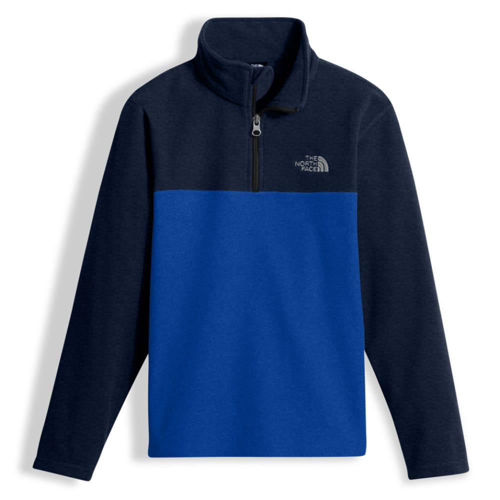 THE NORTH FACE Boys' Glacier  ¼ Zip Pullover - 4H4-BRT COBALT BLUE