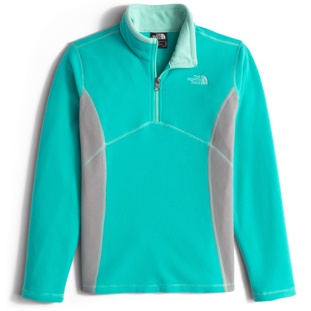 THE NORTH FACE Girls' Glacier  ¼ Zip Pullover - JG8-ION BLUE