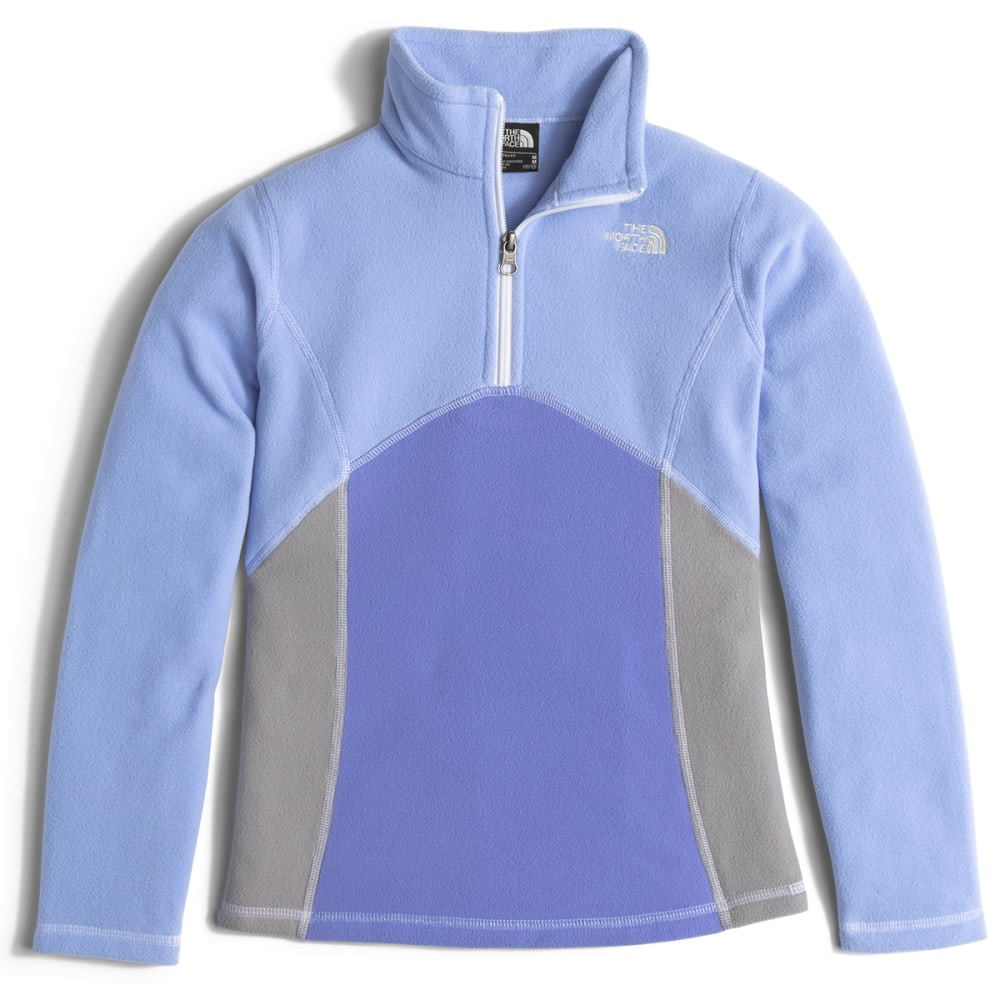 THE NORTH FACE Girls' Glacier ¼ Zip Pullover - V5Q-GRAPEMIST BLUE
