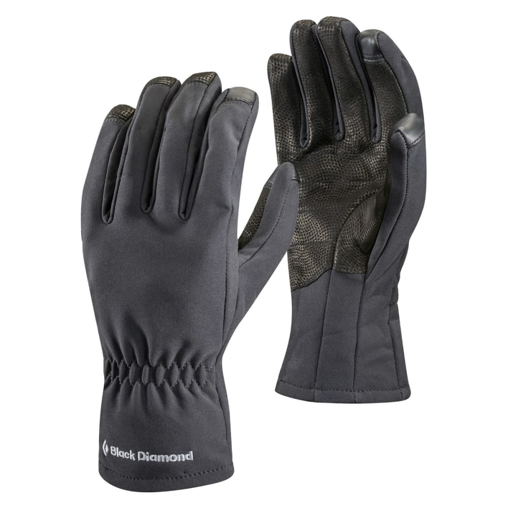 BLACK DIAMOND Softshell Gloves - BLACK