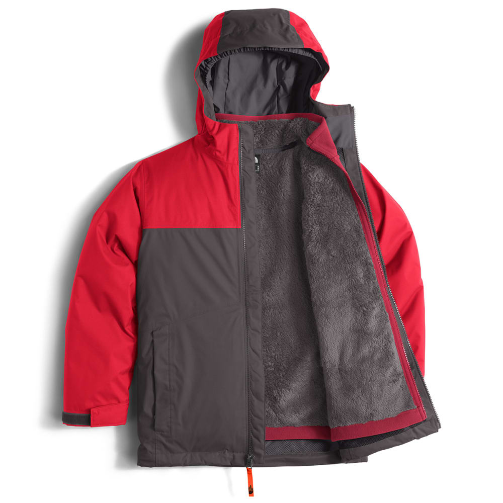 THE NORTH FACE Boys' Chimborazo Triclimate Jacket - 044-GRAPHITE GREY