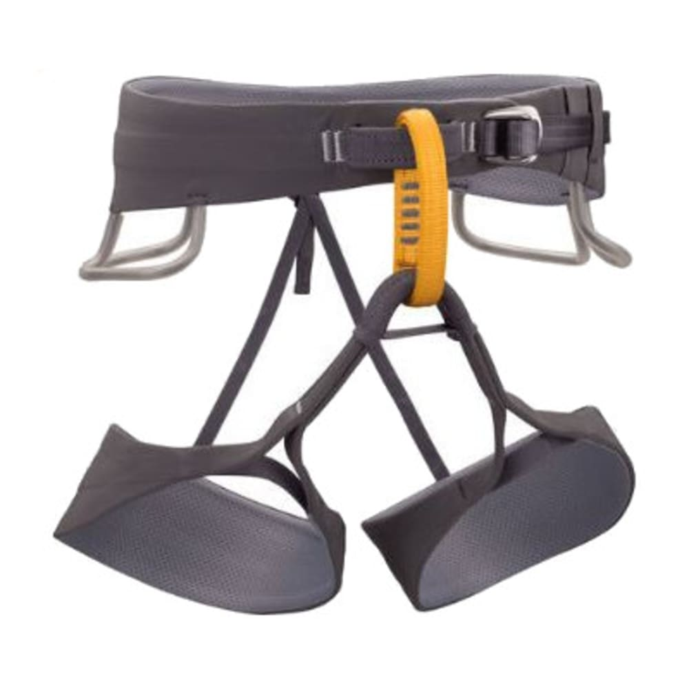 BLACK DIAMOND Men's Solution Climbing Harness, Slate - SLATE