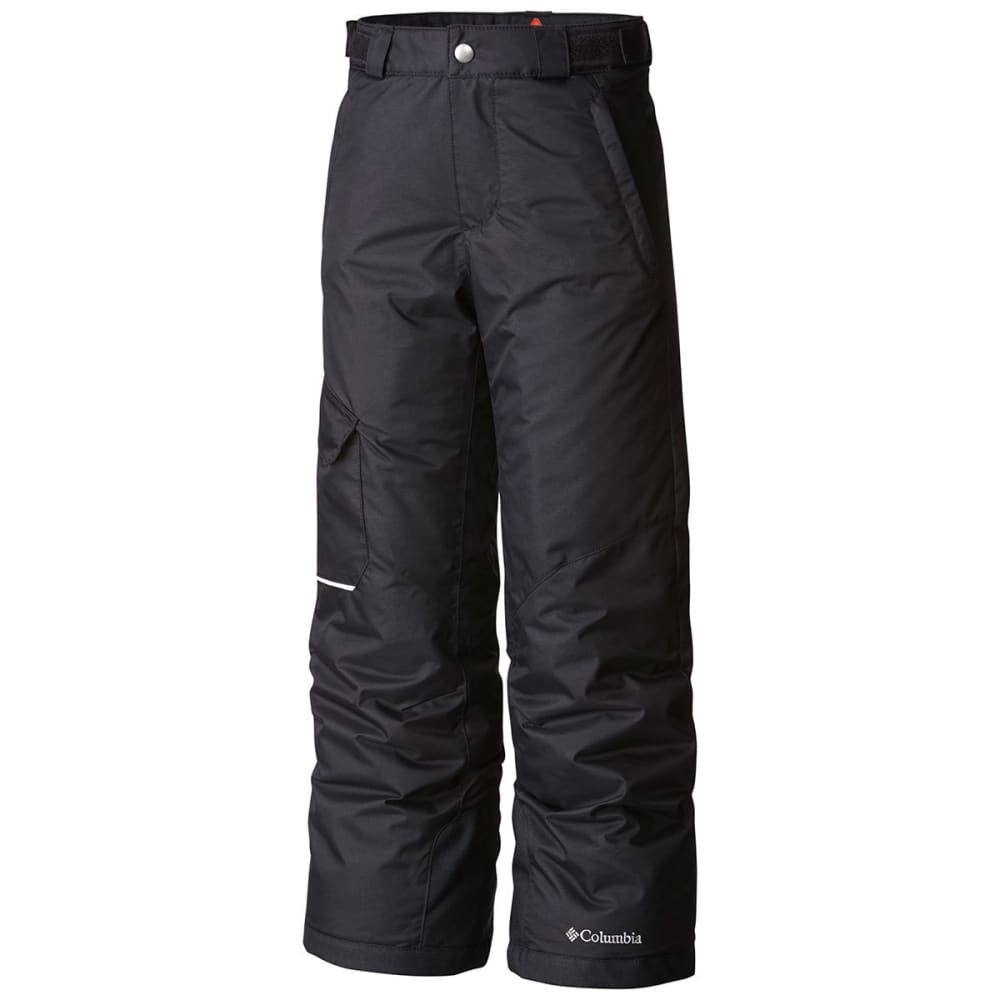 COLUMBIA Youth Bugaboo Insulated Snow Pants - 010-BLACK