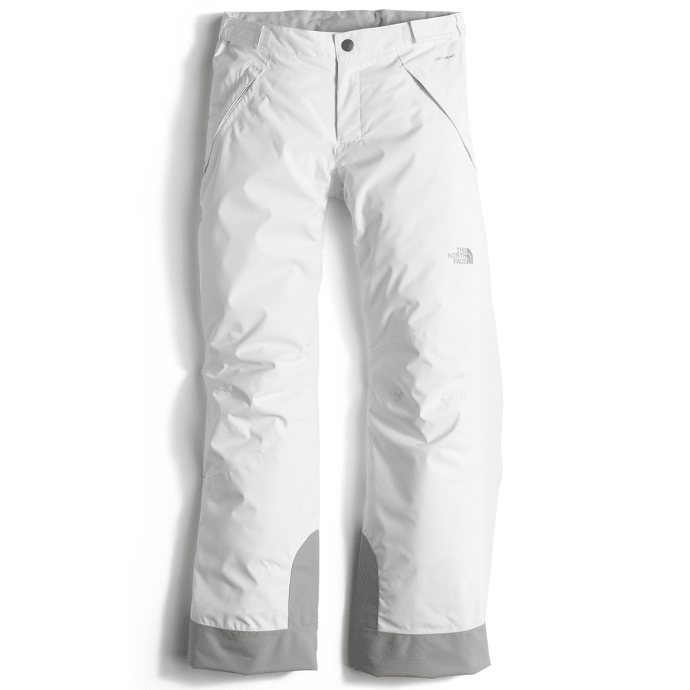 THE NORTH FACE Girls' Freedom Insulated Pants - TNF WHITE