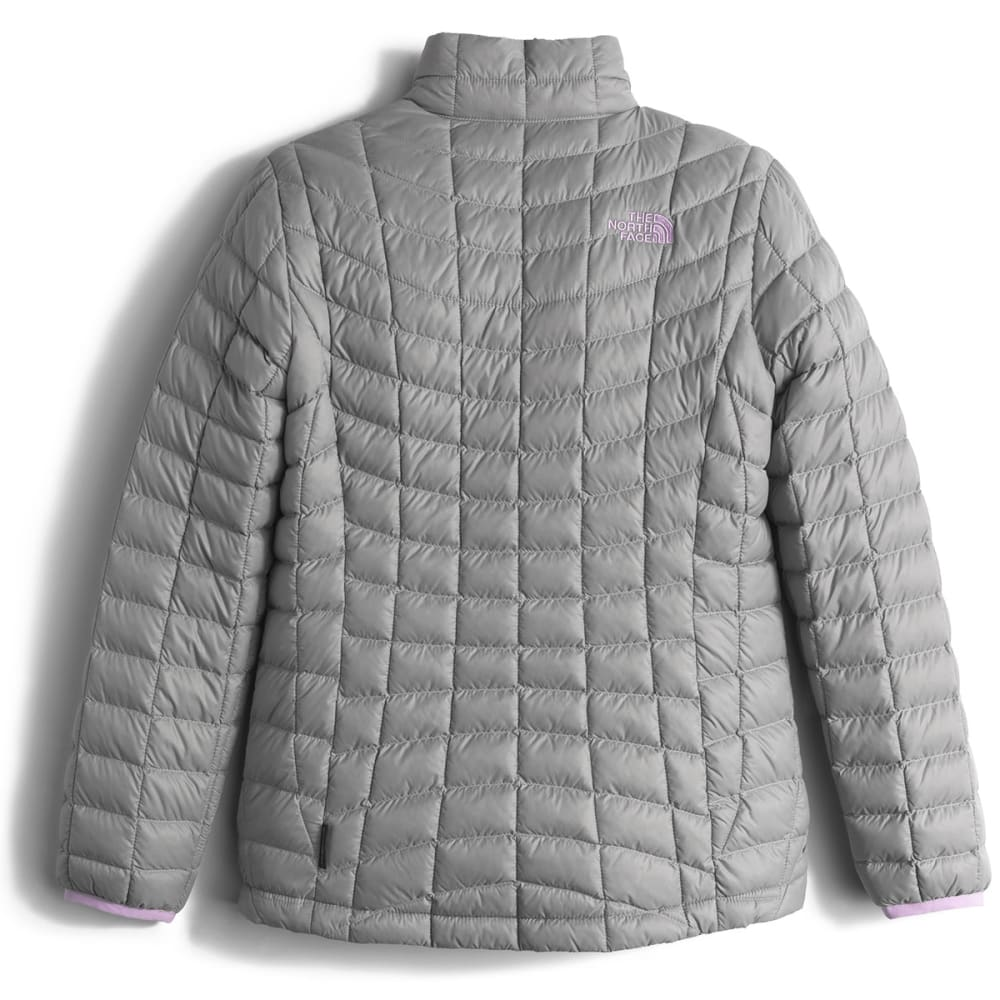 THE NORTH FACE Girls' Thermoball Full-Zip Jacket - 85V-METALLIC SILVER