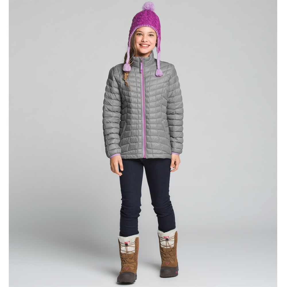 e207e111ce ... THE NORTH FACE Girls  39  Thermoball Full-Zip Jacket - 85V-METALLIC ...