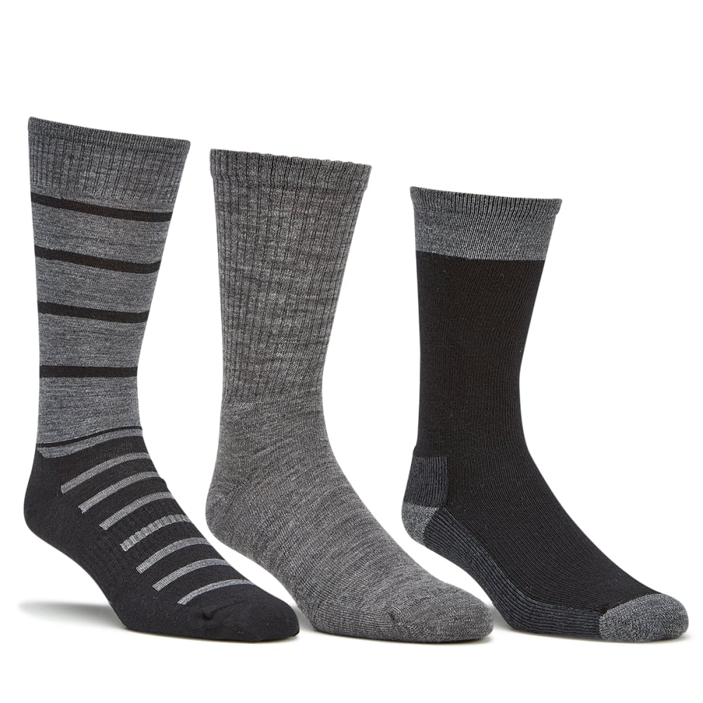 SMARTWOOL Men's Trio Sock Gift Set, Black - BLACK-001