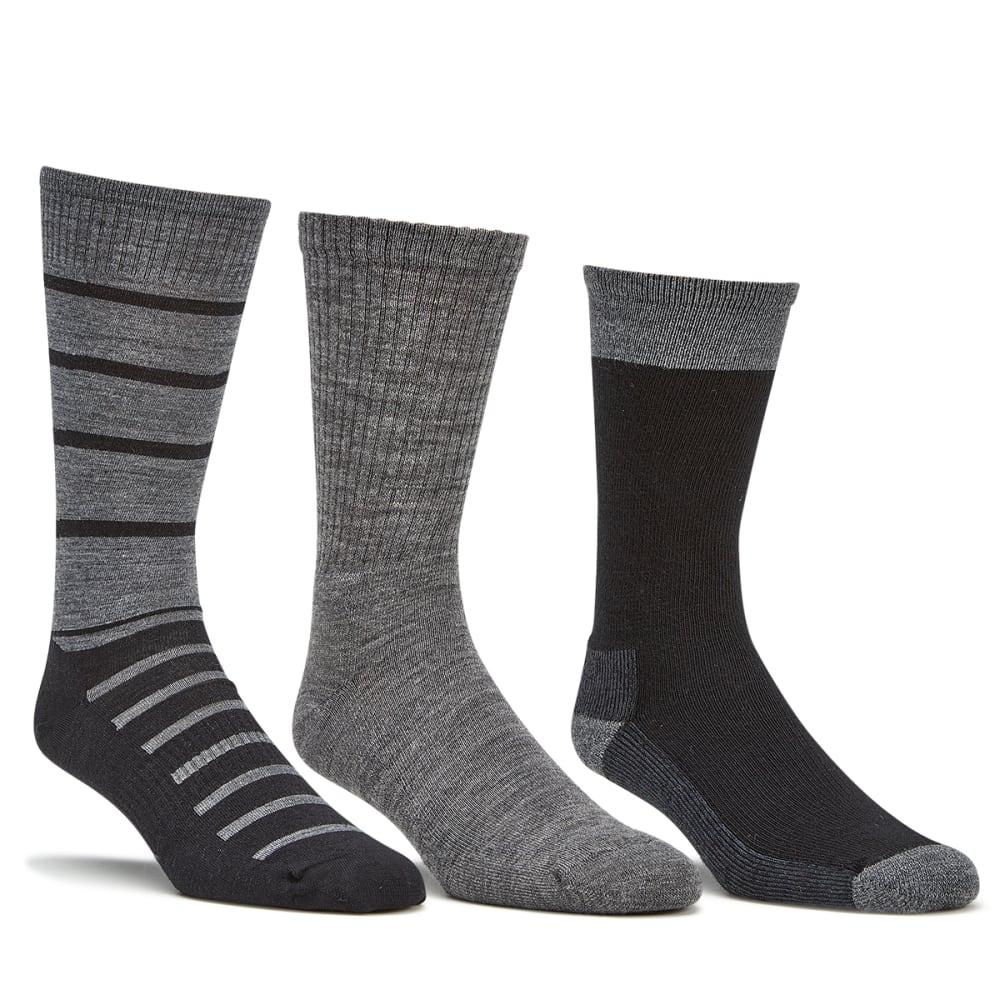 SMARTWOOL Men's Trio Sock Gift Set, Black - BLACK-001