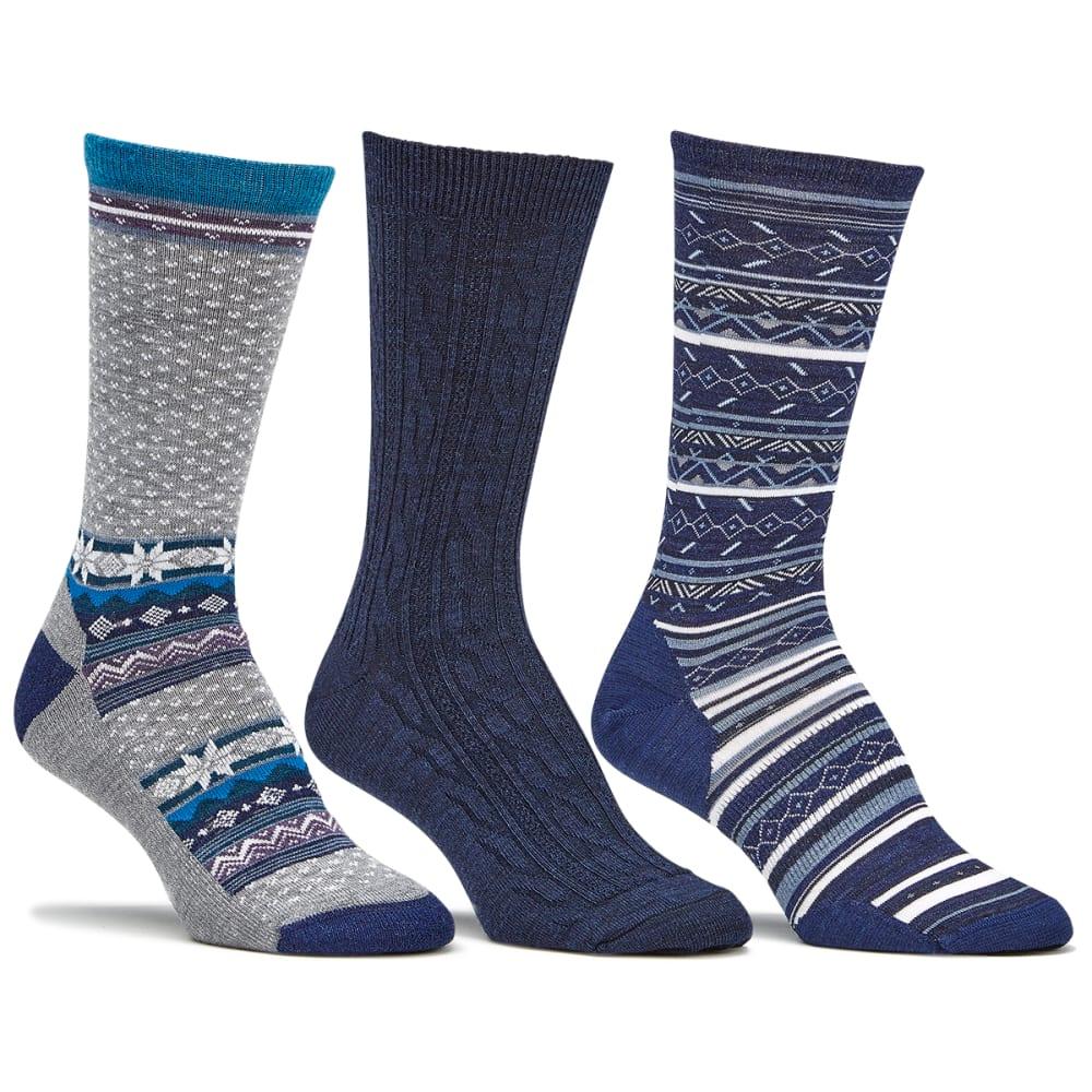Smartwool Women S Trio Sock Gift Set Blue Eastern