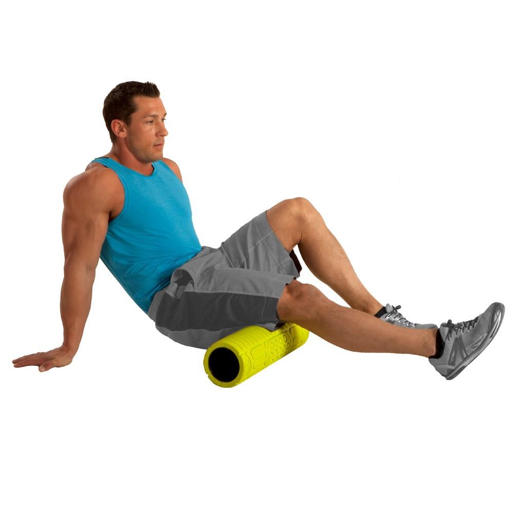 GOFIT 18-Inch Massage Roller - GREEN