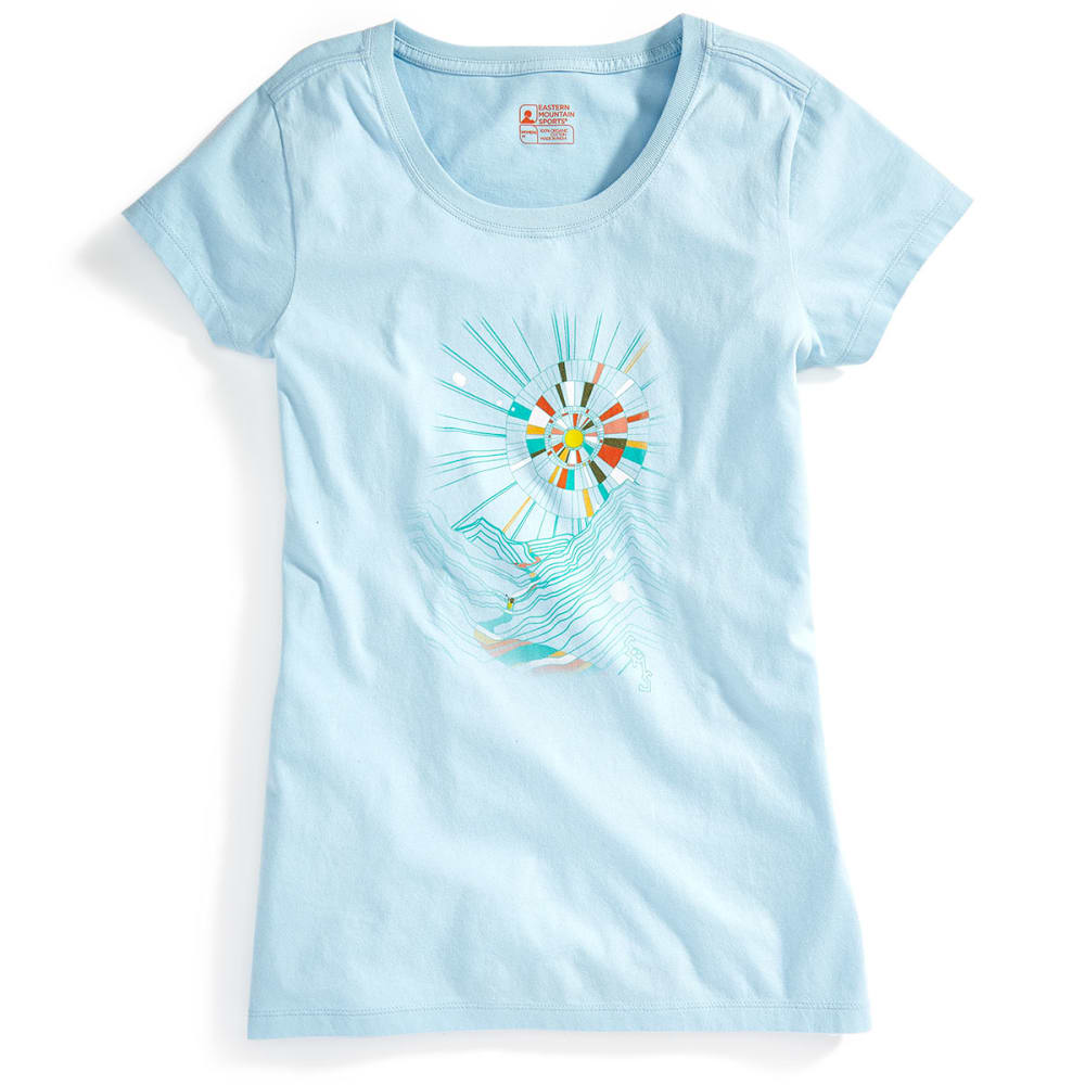 EMS® Women's Eventide Graphic Tee - COOL BLUE
