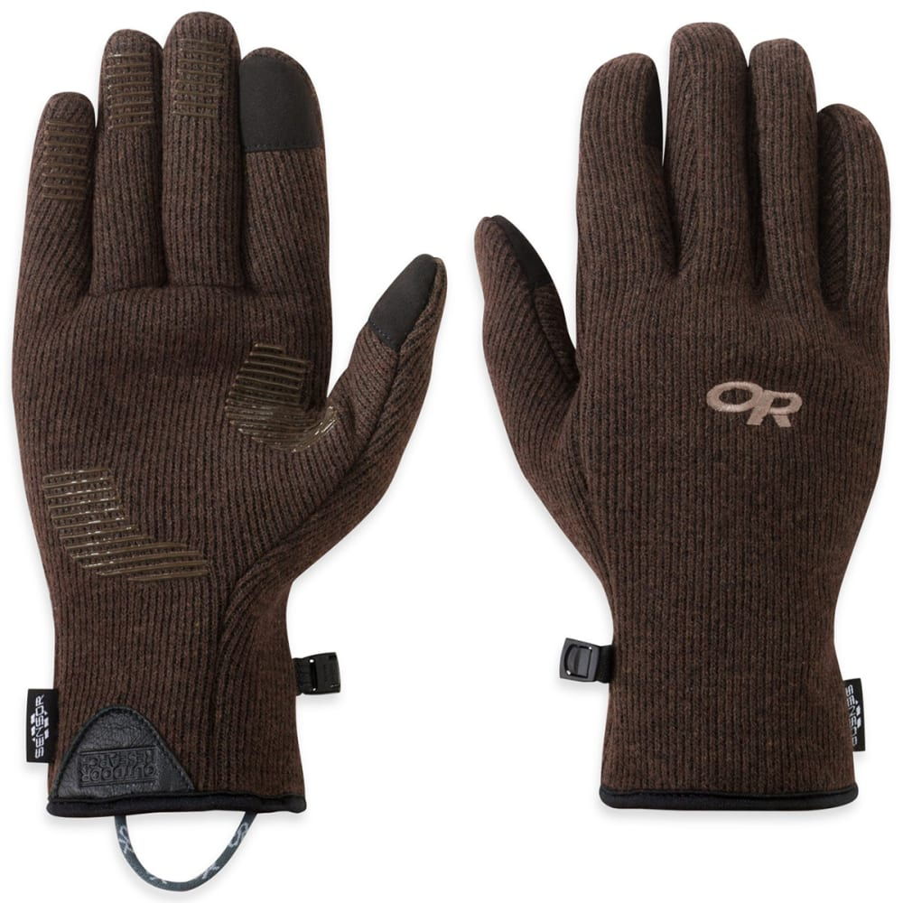 OUTDOOR RESEARCH Men's Flurry Sensor Gloves - EARTH-0820