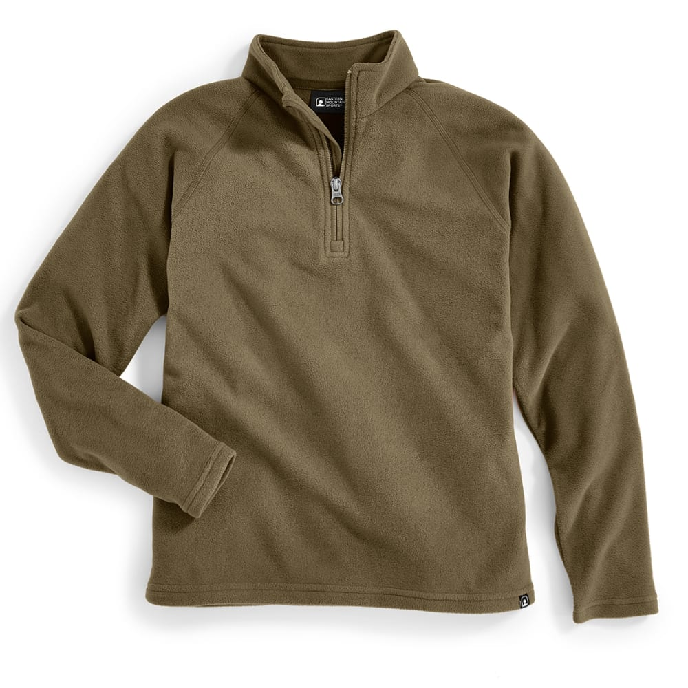 EMS Boys' Classic Micro Fleece 1/4 Zip - FOREST NIGHT