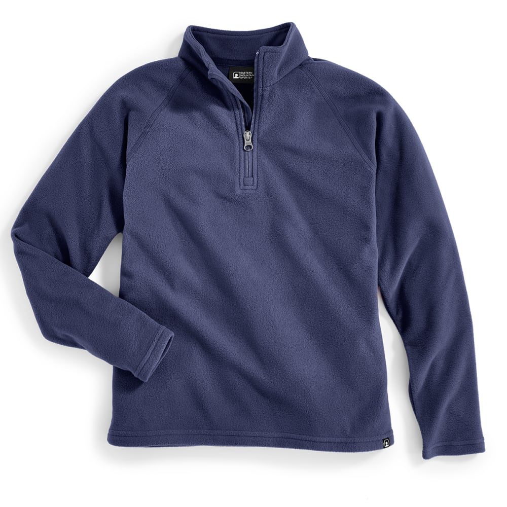 EMS Boys' Classic Micro Fleece 1/4 Zip - PEACOAT