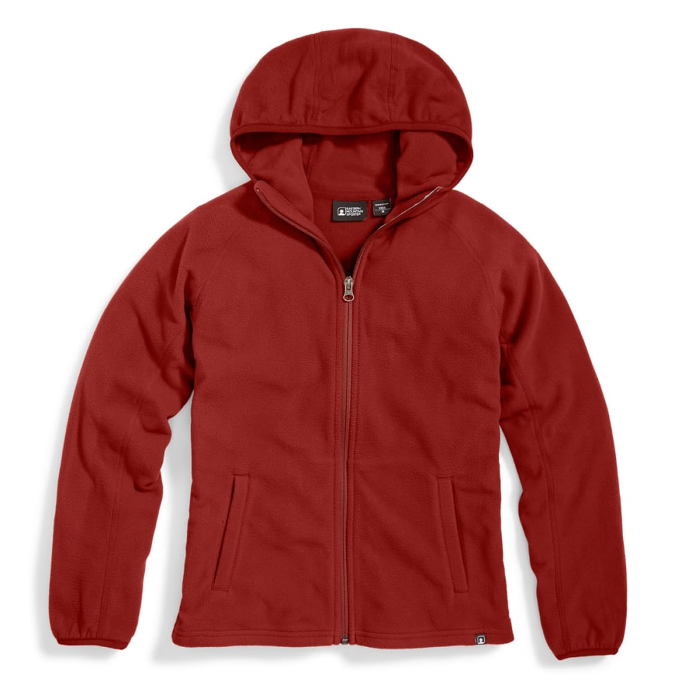 EMS® Boys' Classic Micro Fleece Hoodie - FIRED BRICK