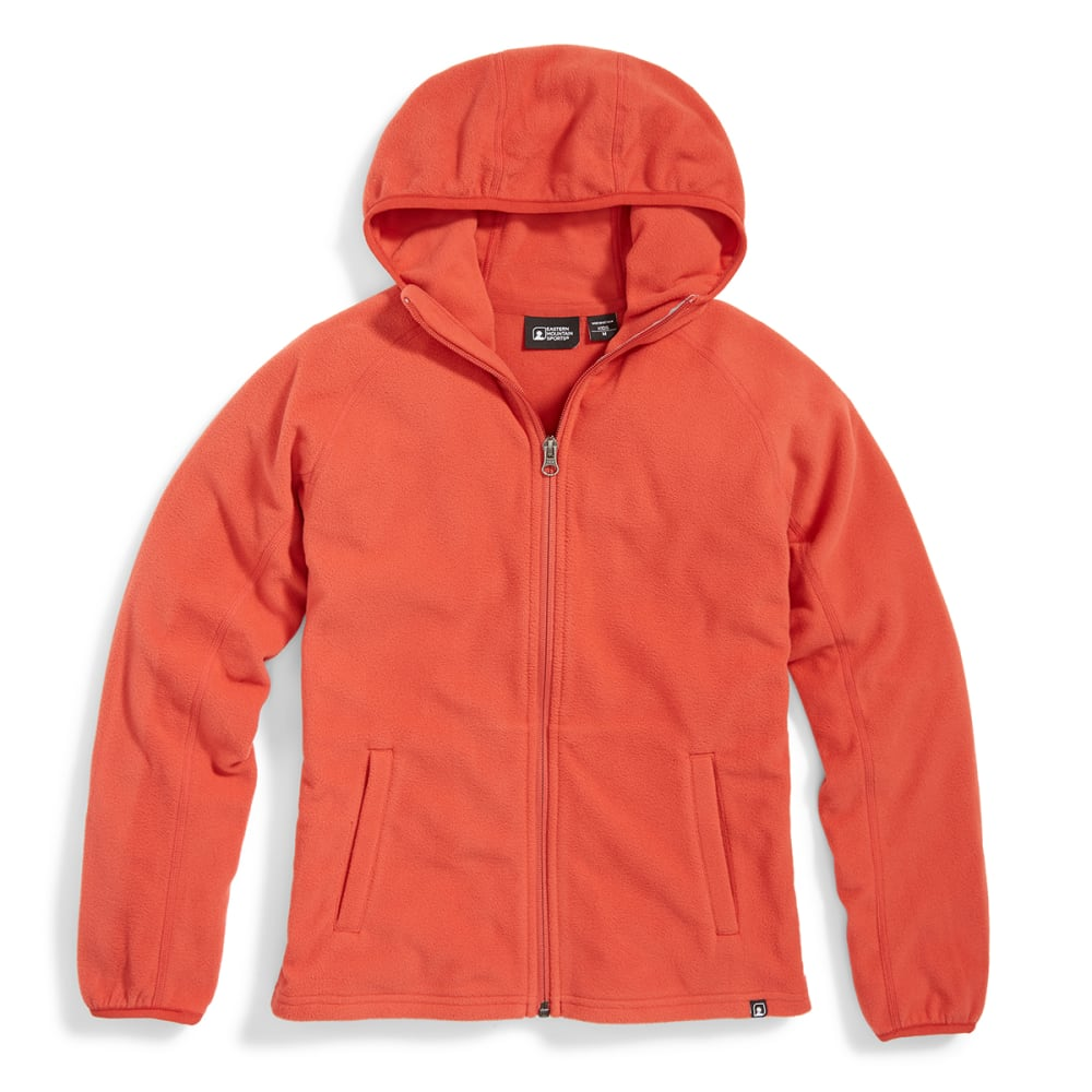EMS Girls' Classic Micro Fleece Hoodie - BAKED APPLE