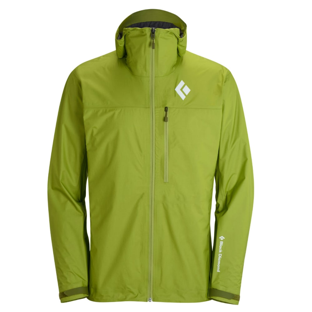 BLACK DIAMOND Men's Mono Point Shell Jacket - GRASS