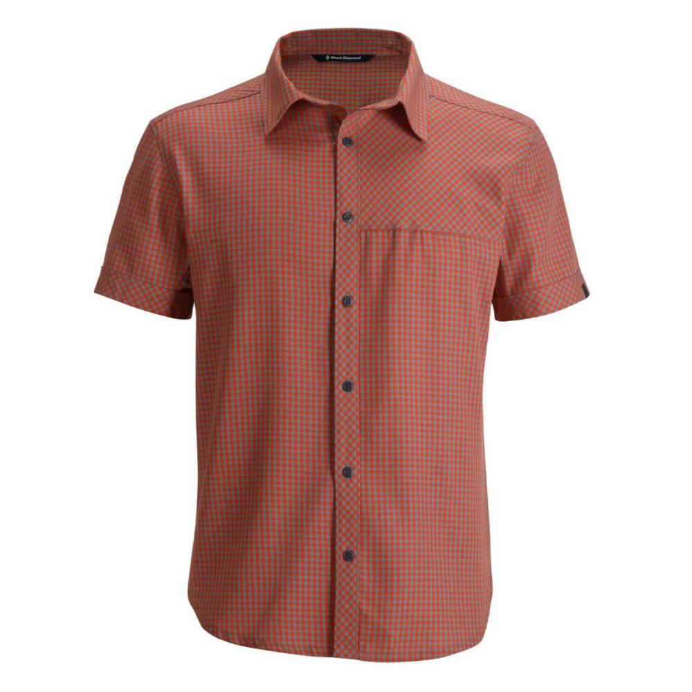 BLACK DIAMOND Men's Short-Sleeve Spotter Shirt - OCTANE/NICKEL
