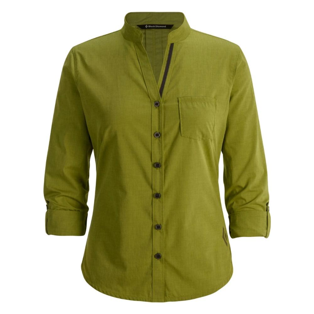 BLACK DIAMOND Women's Chambray Modernist Shirt - ALOE