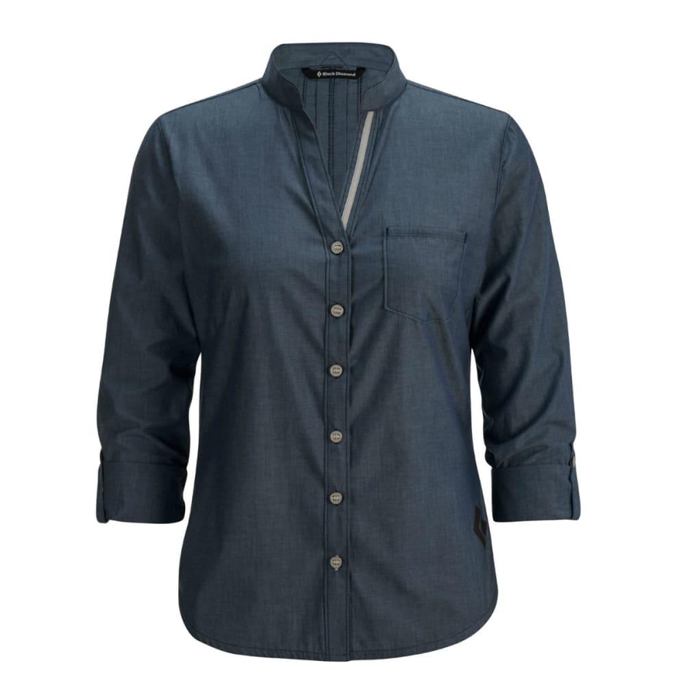BLACK DIAMOND Women's Chambray Modernist Shirt - CAPTAIN