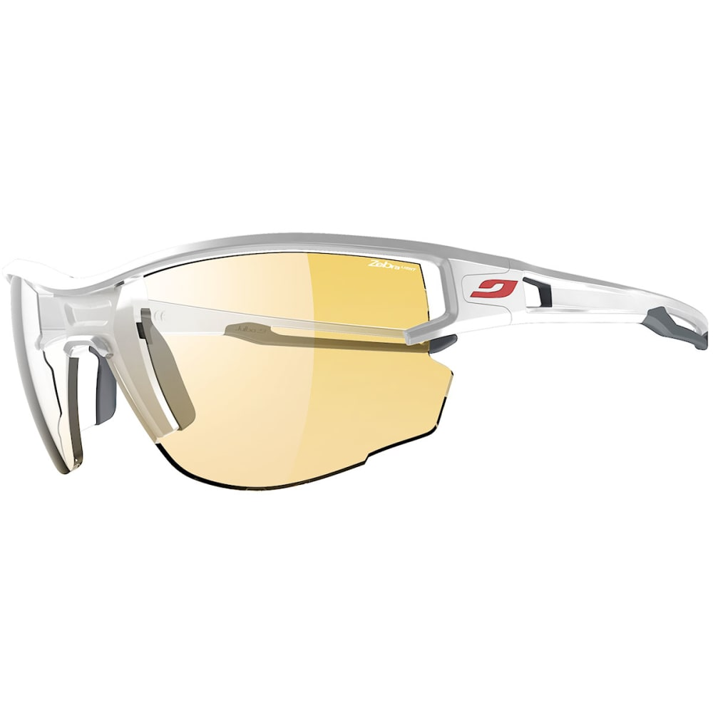 JULBO Aero Zebra Light Sunglasses - WHITE/GRAY