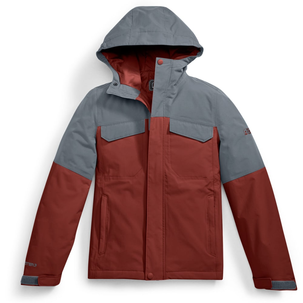 EMS® Kids' Freescape Insulated Jacket - TURBULENCE/FIRED BRI