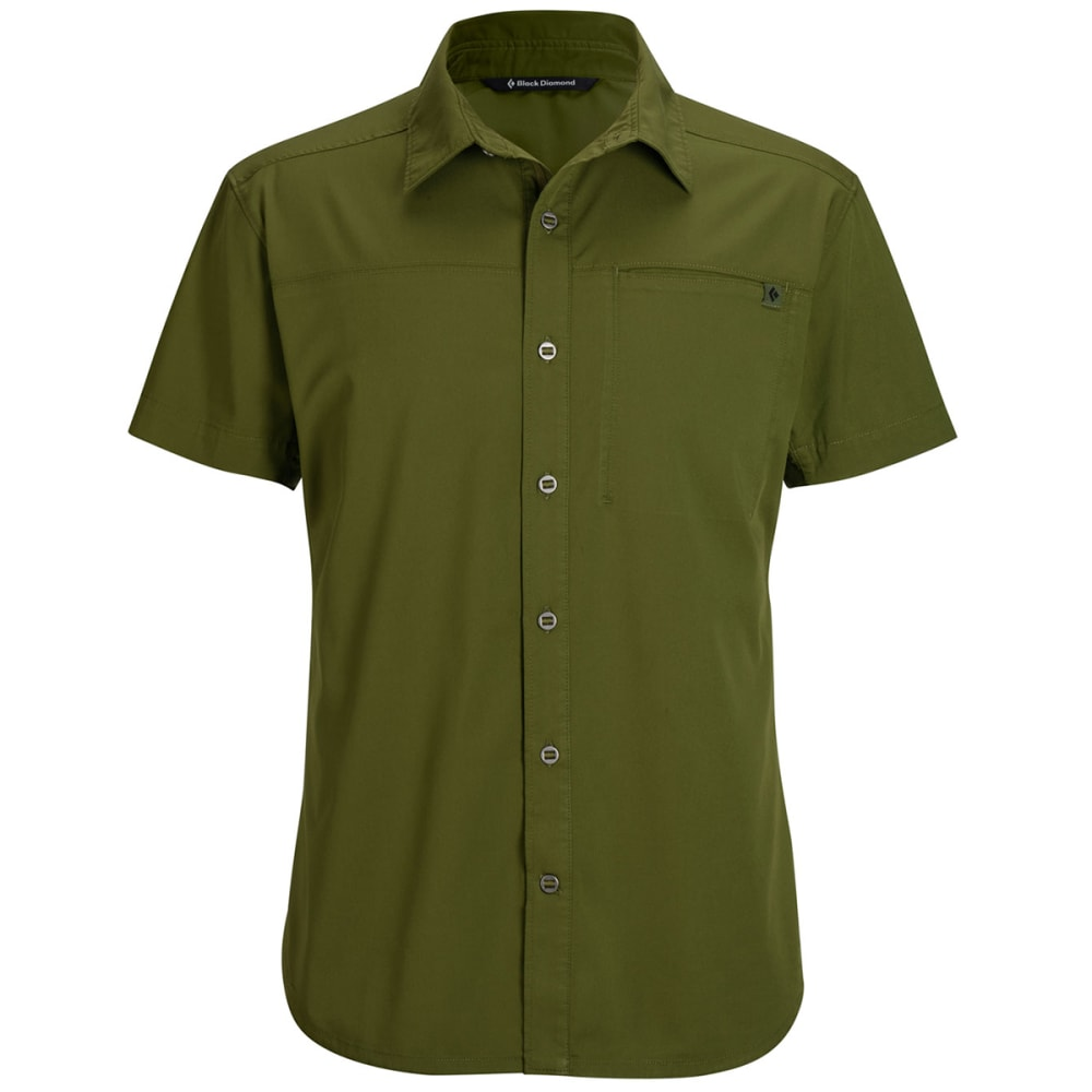 BLACK DIAMOND Men's Short-Sleeve Stretch Operator Shirt - CARGO