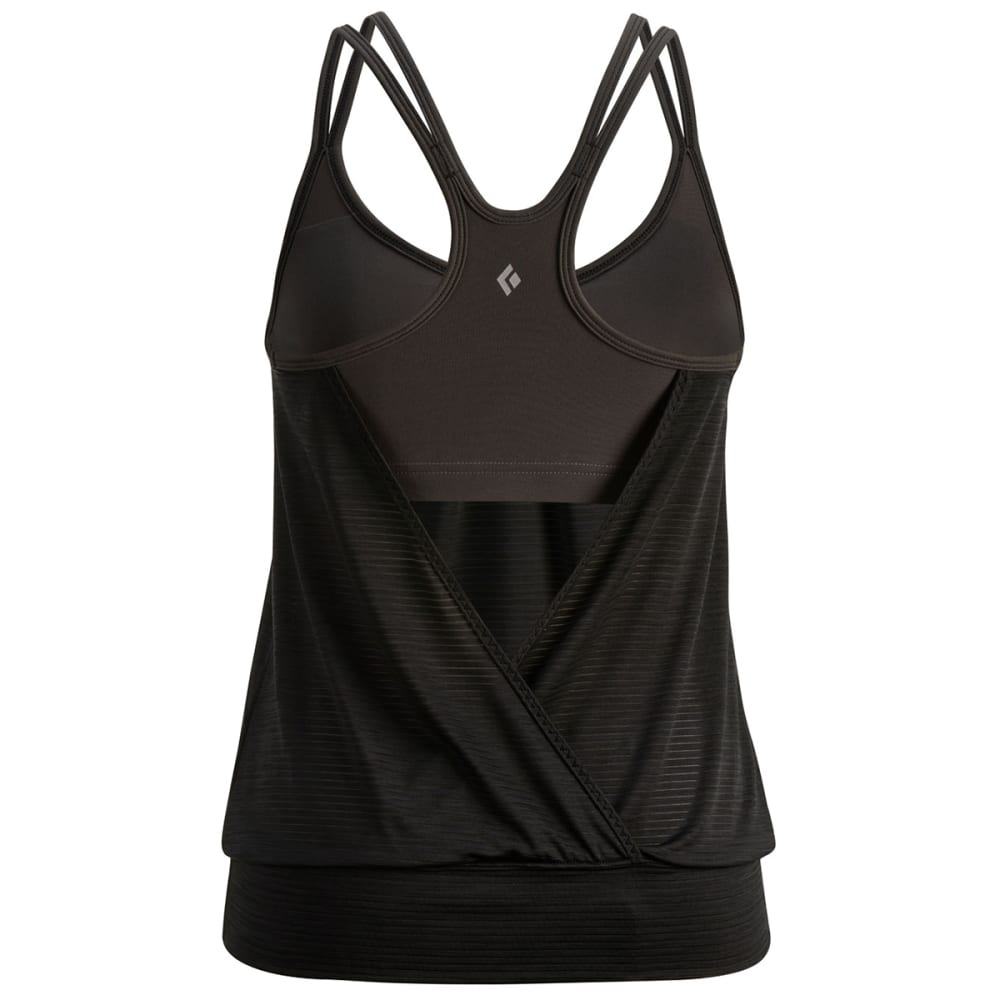 BLACK DIAMOND Women's Sheer Lunacy Tank - BLACK