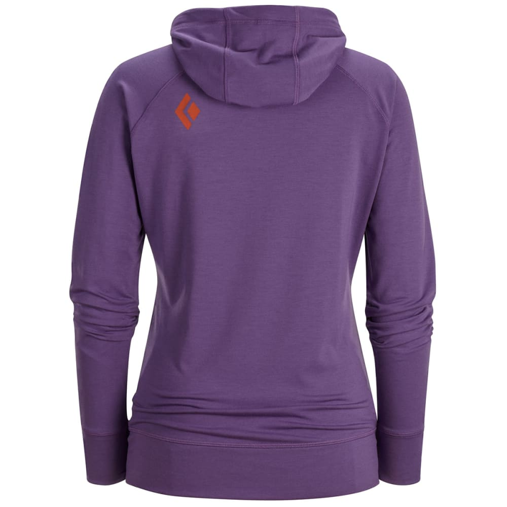 BLACK DIAMOND Women's Dawn Wall Hoody - DUSK