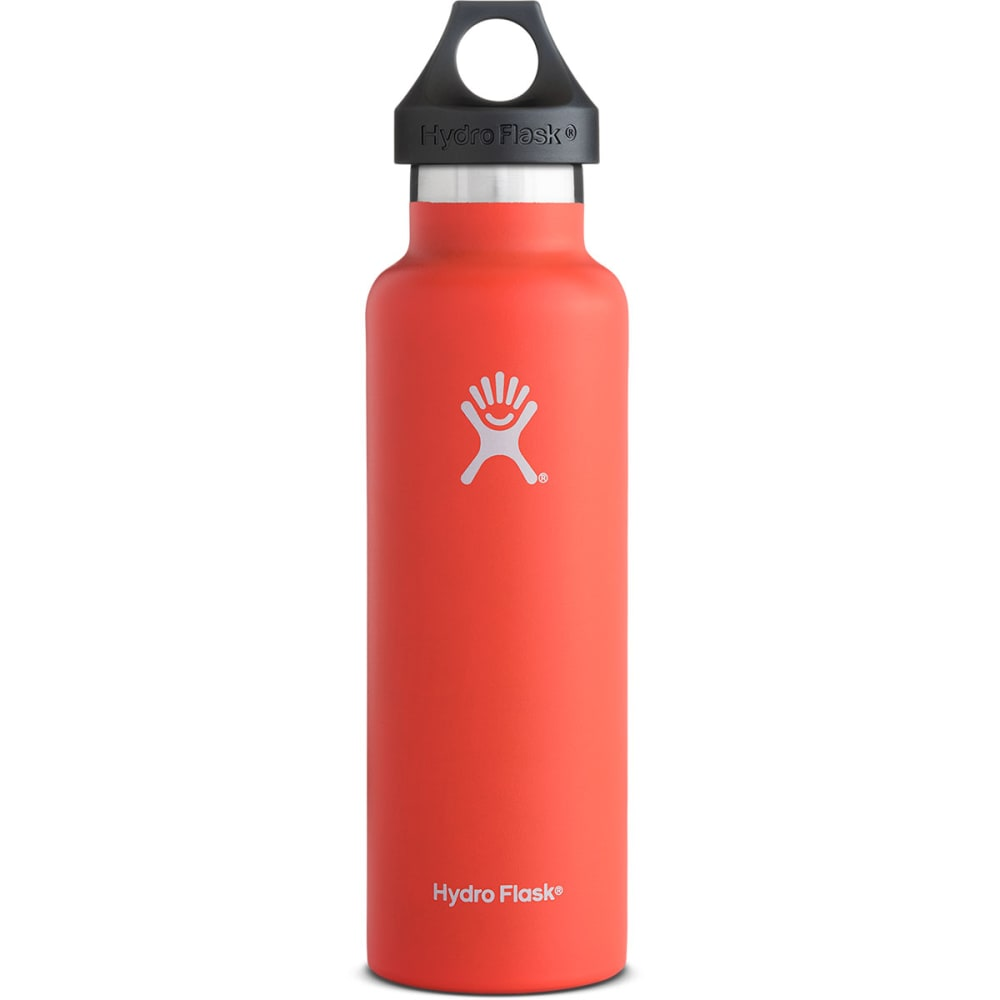 HYDRO FLASK 21 oz. Standard Water Bottle, Tangelo - TANGELO