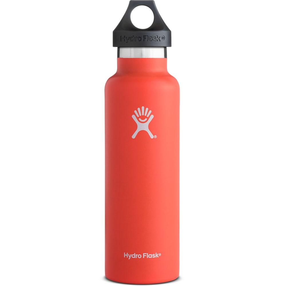 HYDRO FLASK 21 oz. Standard Water Bottle, Tangelo - TANGELO