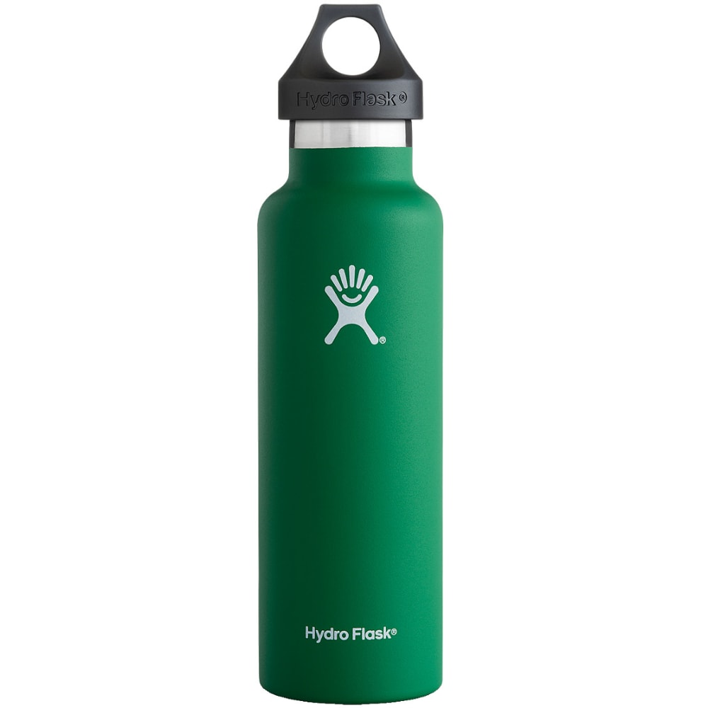 HYDRO FLASK 21 oz. Standard Mouth Water Bottle - FOREST