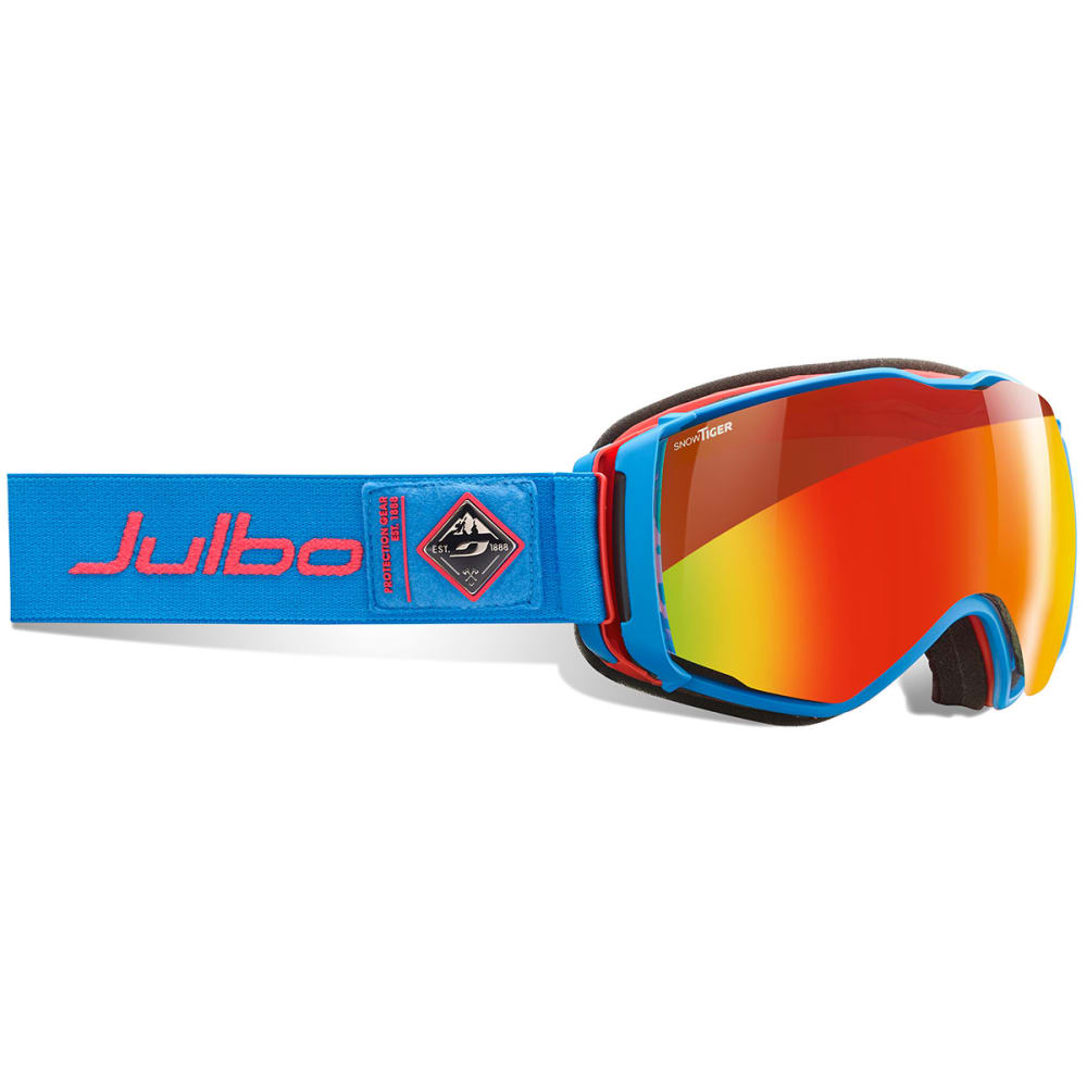 JULBO Aerospace Goggles with Snow Tiger Lens - BLU/ERED