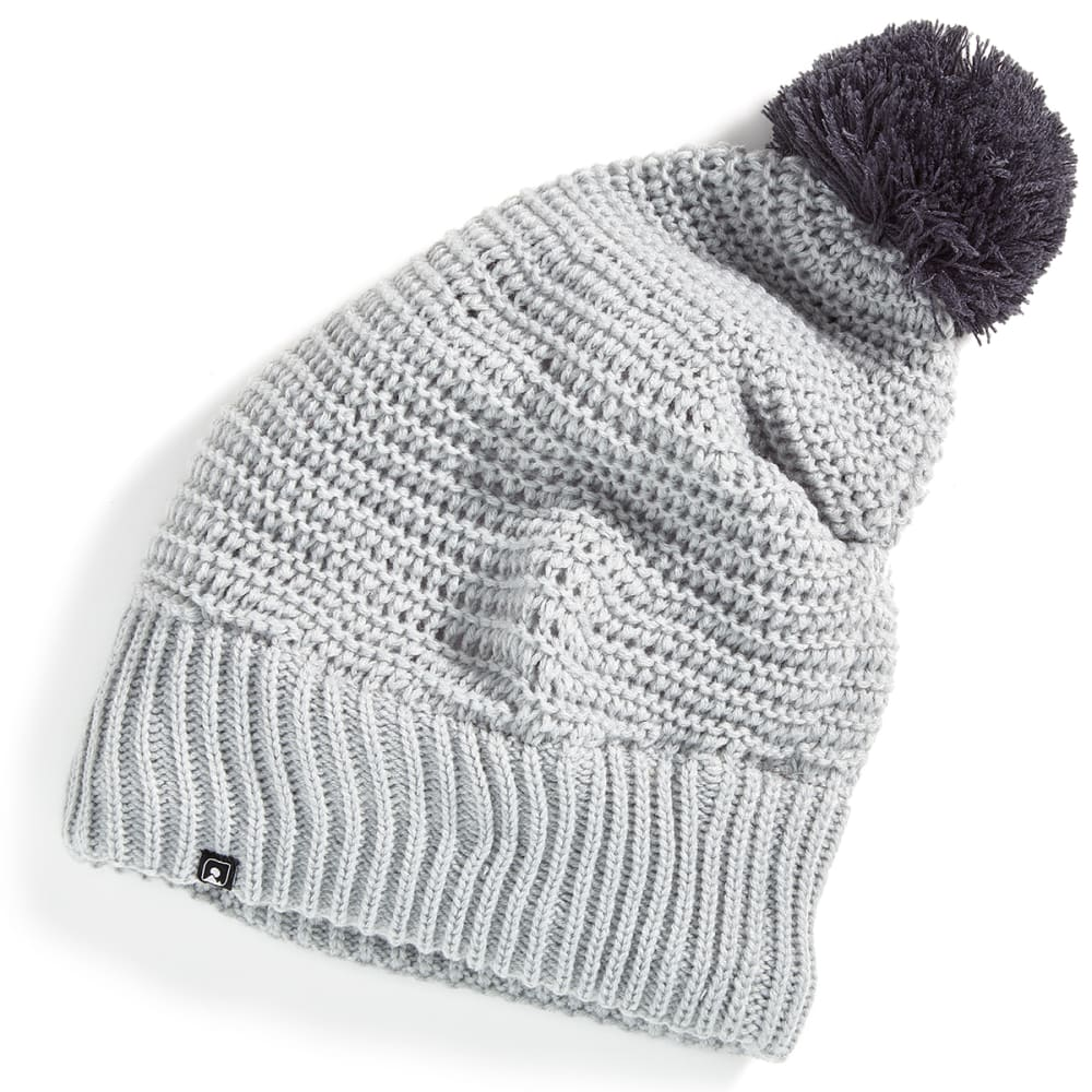 EMS® Women's Pom Slouch Beanie - HIGH RISE