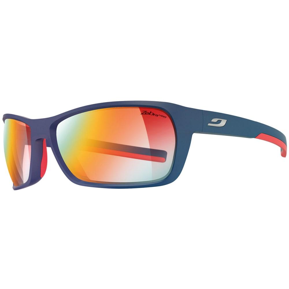 JULBO Blast Zebra Light Sunglasses - DARK BLUE/RED