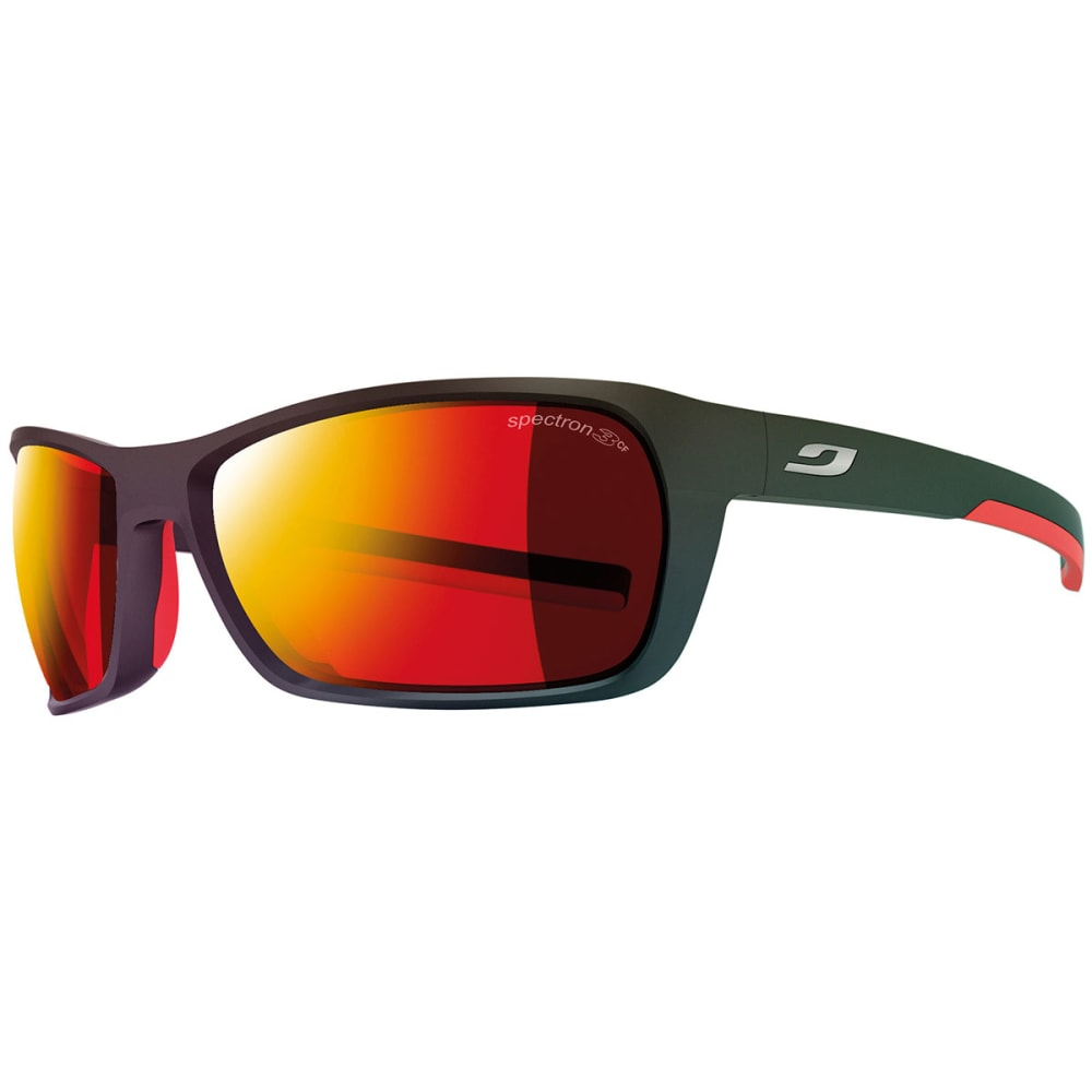 JULBO Black Spectron 3 CF Sunglasses, Mat Black/Red - BLACK/RED