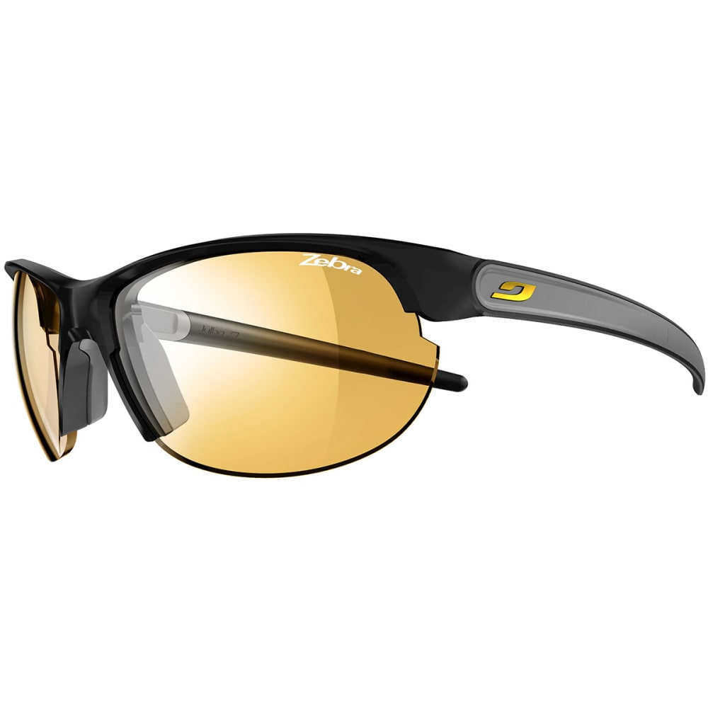JULBO Women's Breeze Zebra Sunglasses - MATTE BLACK/GRAY