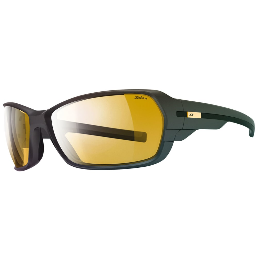 JULBO Dirt 2.0 Zebra Sunglasses - MATTE BLACK/BLACK