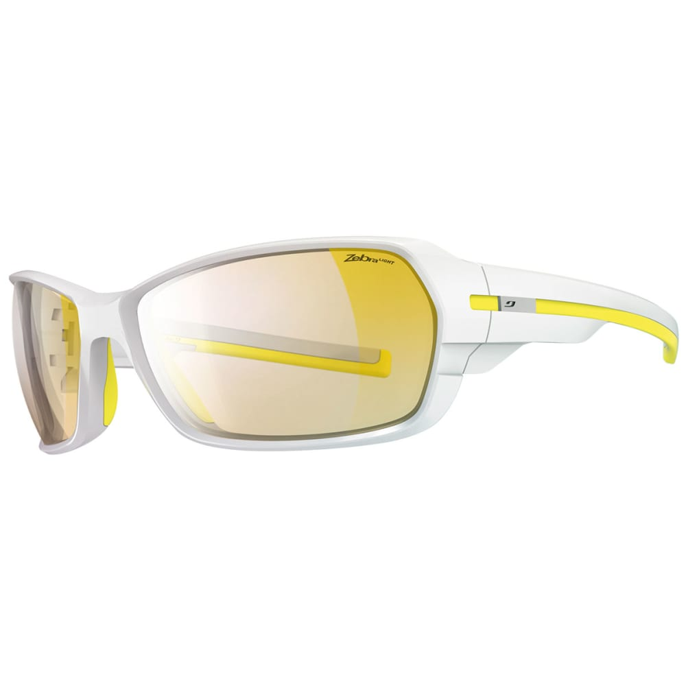 JULBO Dirt 2.0 Zebra Light Sunglasses - SHINY WHITE/YELLOW