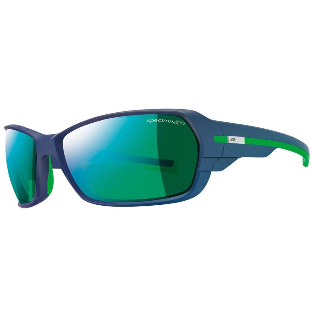 JULBO Dirt 2.0 Spectron 3 CF Sunglasses, Dark Blue/Green - MATTE DK BLU/GREEN