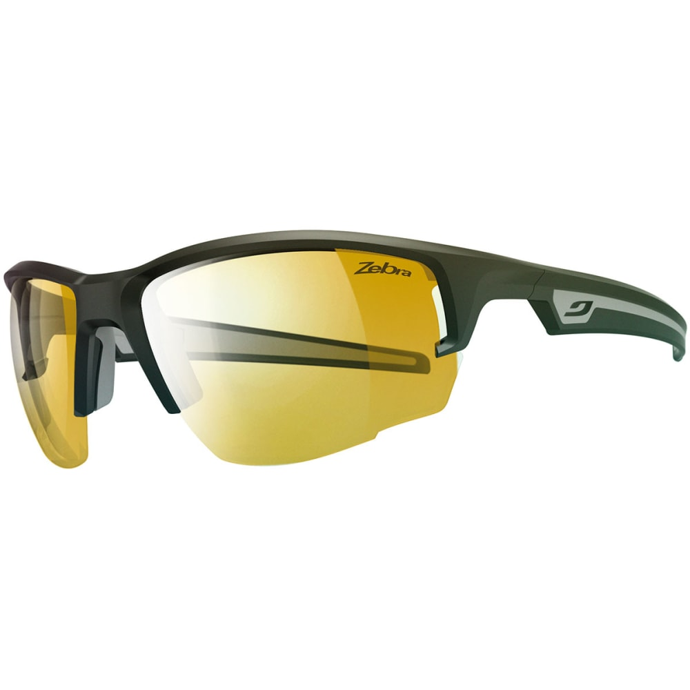 JULBO Venturi Zebra Sunglasses, Matte Black/Grey - MATTE BLACK/GRAY
