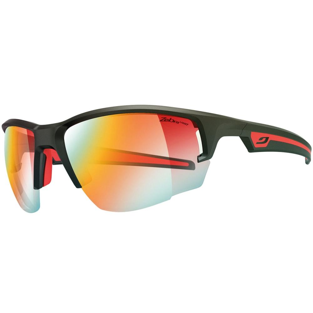 JULBO Venturi Zebra Light Sunglasses, Matte Black/Red - MATTE BLACK/RED
